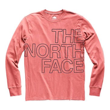 The North Face Men's Long Sleeve Well Loved Scripter Tee