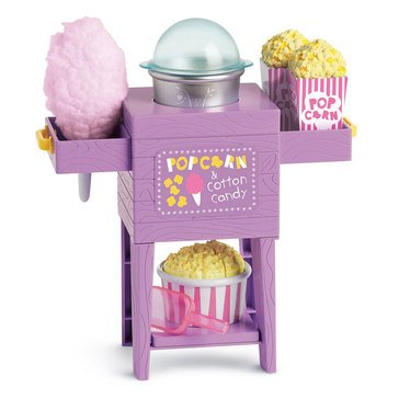 WellieWishers Popcorn Cotton Candy Stand