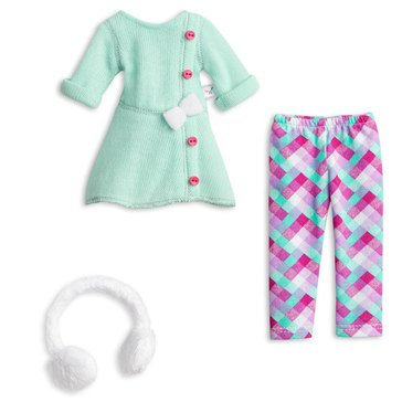 American Girl Snow Much Fun Outfit