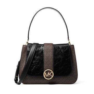 Michael Kors Lillie Medium Top Handle Flap Satchel