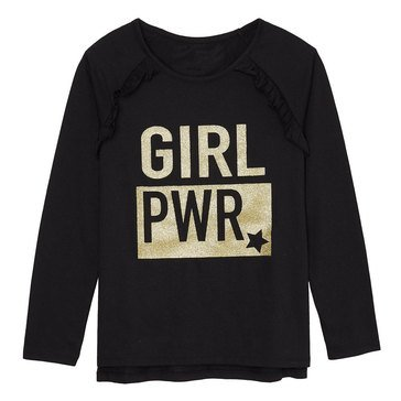 Yarn & Sea Toddler Girls' Long Sleeve Graphic Tee