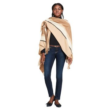 Brooks Brothers Women's Striped Poncho