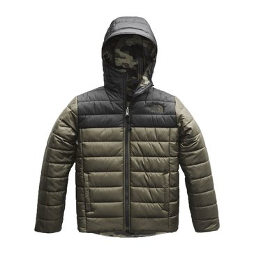 The North Face Big Boys' Reversible Perrito Jacket, New Taupe