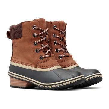 Sorel Slimpack Lace II Waterproof Insulated Nubuck Boot