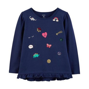 Carter's Toddler Girls' Emoji Tee