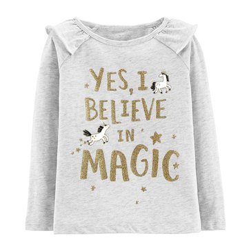 Carter's Toddler Girls' Believe in Magic Tee