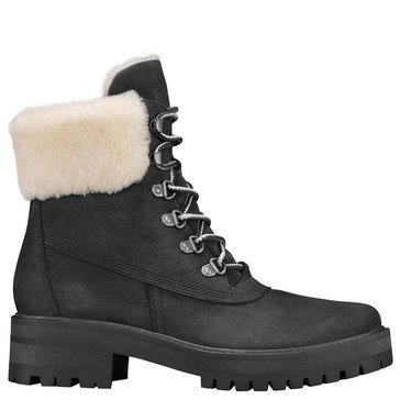 Timberland Courmayeur Valley 6 Inch Boot With Shearling Lining