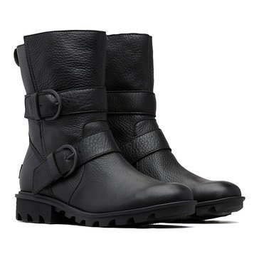 Sorel Women's Phoenix Moto Waterproof Leather Boot