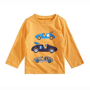 First Impressions Baby Boys' Long Sleeve Race Cars Tee