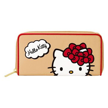 Hello Kitty Long Wallet Red Ribbon