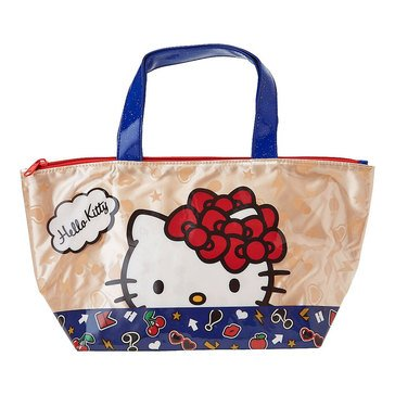 Hello Kitty Lunch Tote Red Ribbon