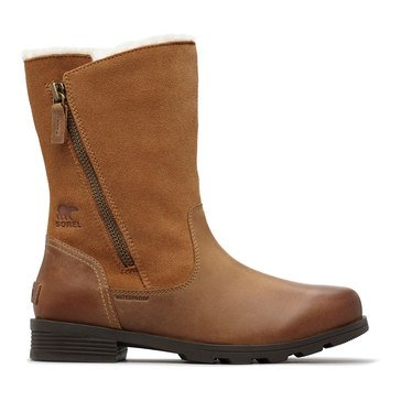 Emelie Foldover Waterproof Insulated Zip Leather Boot
