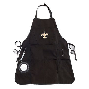 Evergreen New Orleans Saints Grilling Apron