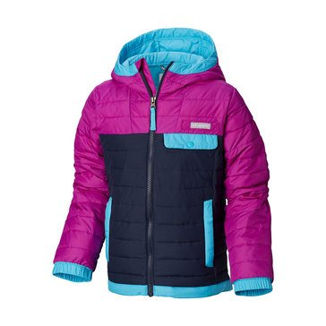 Columbia Big Girls' Mountainside Full Mid Weight Zip Jacket