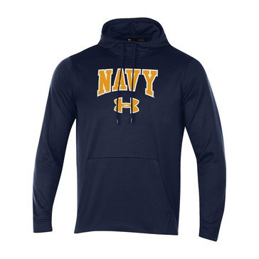 Under Armour Men's USN Double Applique Fleece Hoodie