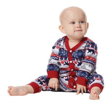 Jammers Family Fairisle Unionsuit Infant Pjs