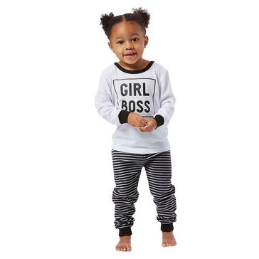 Jammers Family The Boss Toddler Girl's Pjs
