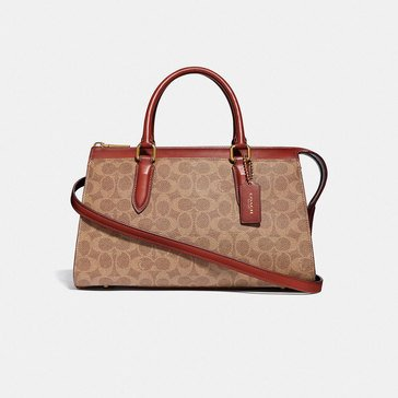 Coach Coated Canvas Signature Bond Bag