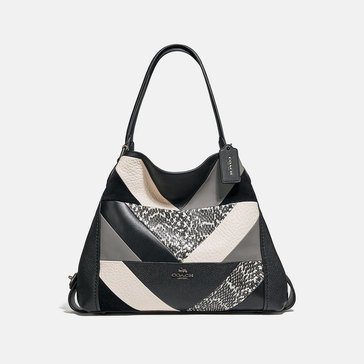 Coach Patchwork Snake Edie 31 Shoulder Bag