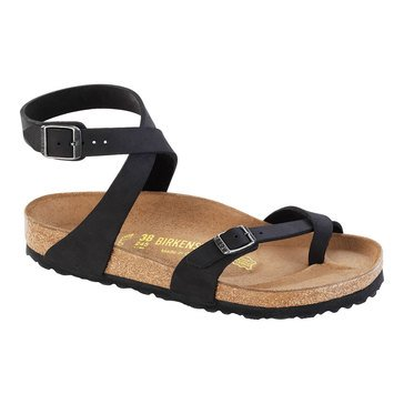 Birkenstock Women's Yara Ankle Strap Oil Leather Sandal