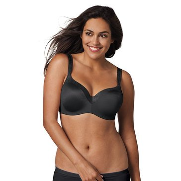 Playtex Womens Love My Curves Foam Balconette Underwire Bra