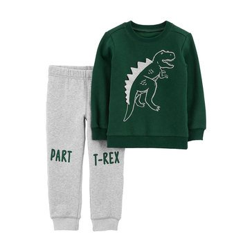 Carter's Baby Boys' 2-Piece T-Rex Pullover And Jogger Set