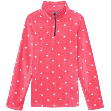 French Toast Little Girls' Printed Micro Fleece