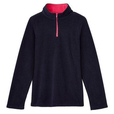 French Toast Little Girls' Solid Micro Fleece