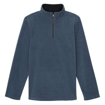 Eight Bells Little Boys' 1/4 Zip Micro Fleece Top