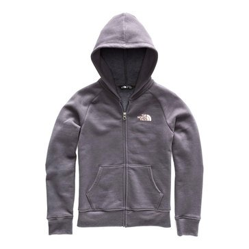 The North Face Big Girls' Full Zip Big Logo Hoodie