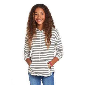 Billabong Big Girls' These Days Knit Yarn Dye Pullover Hoodie