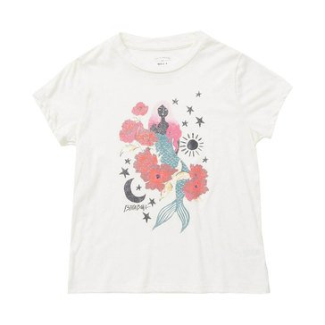 Billabong Big Girls' Mermaid Power Boy Tee