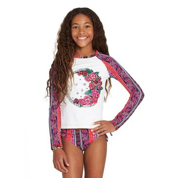 Billabong Big Girls' 2-Piece Stay Forever Rashguard Set