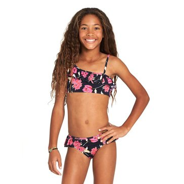 Billabong Big Girls' 2-Piece Floral Dawn On Shoulder Set