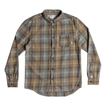 Quiksilver Men's Fatherfly Flannel Shirt