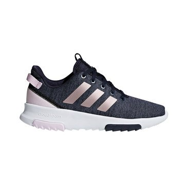 Adidas Girls Cloudfoam Racer TR Running Shoe (Little Kid)