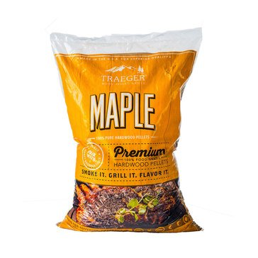 Traeger Maple BBQ Hardwood Pellets, 20 Lb Bag