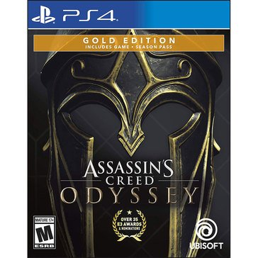 PS4 Assassins Creed Odyssey Gold Steelbook Edition