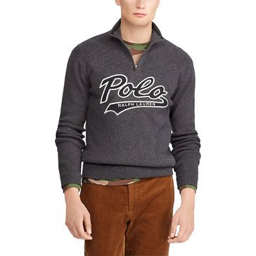 Polo Ralph Lauren Men's 1/2 Zip Cotton Sweater