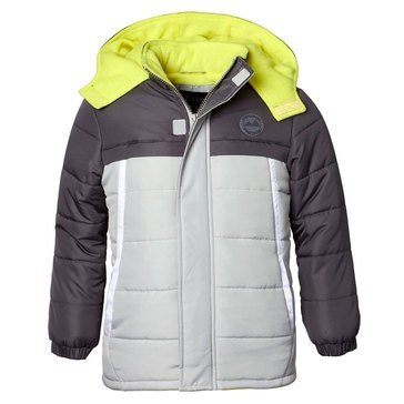 Toddler Boys iXtreme Colorblock Puffer Coat