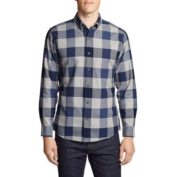 Eddie Bauer Men's Long Sleeve Flannel Shirt