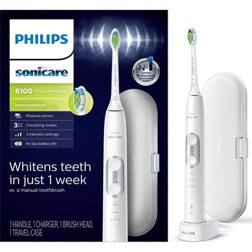 Philips Sonicare 6100 Rechargable Electric Toothbrush