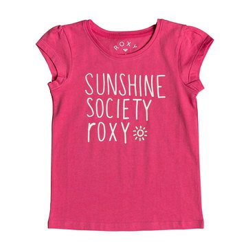 Roxy Little Girls' We Rise School Typo Tee