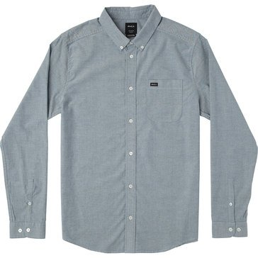 Rvca Men's That'l Do Stretch Long Sleeve Woven Shirt
