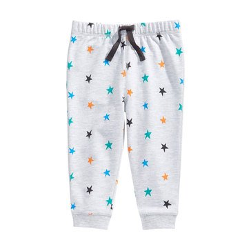 First Impressions Baby Boys' Star Print Joggers