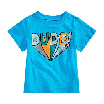 First Impressions Baby Boys' Dude Tee