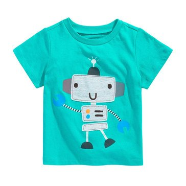 First Impressions Baby Boys' Robot Tee