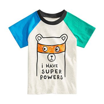First Impressions Baby Boys' Super Raglan Tee