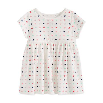 First Impressions Baby Girls' Multi Heart Tunic