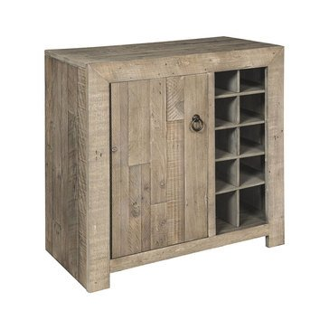 Signature Design by Ashley Forestmin Wine Cabinet